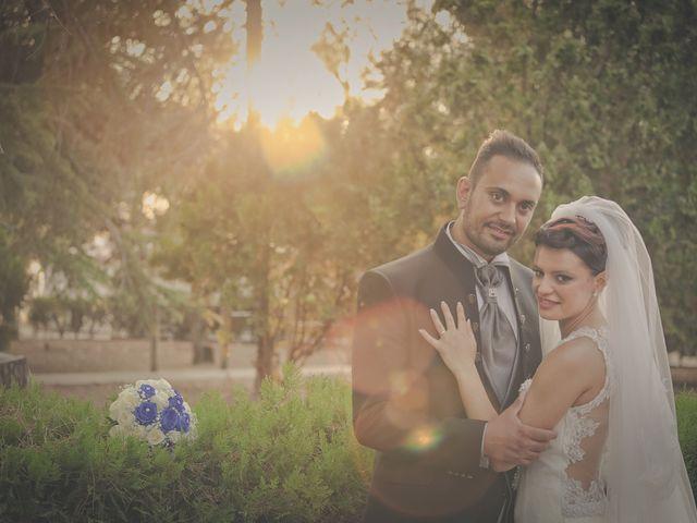 le nozze di Erika e Giovanni