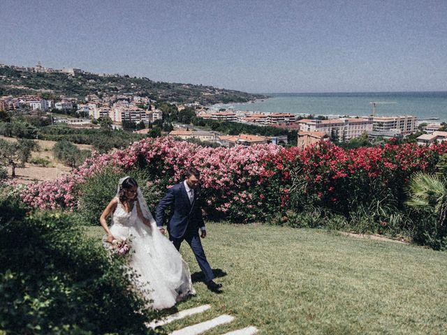 Il matrimonio di Monica e Alessandro a Vasto, Chieti 16