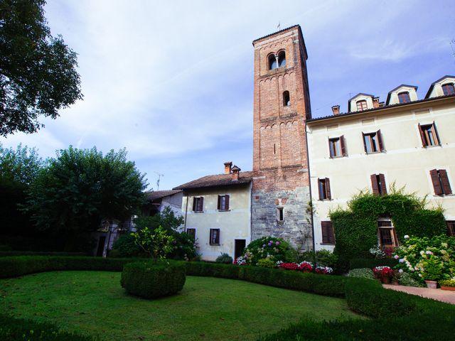 Il matrimonio di Massimiliano e Daria a Comignago, Novara 1