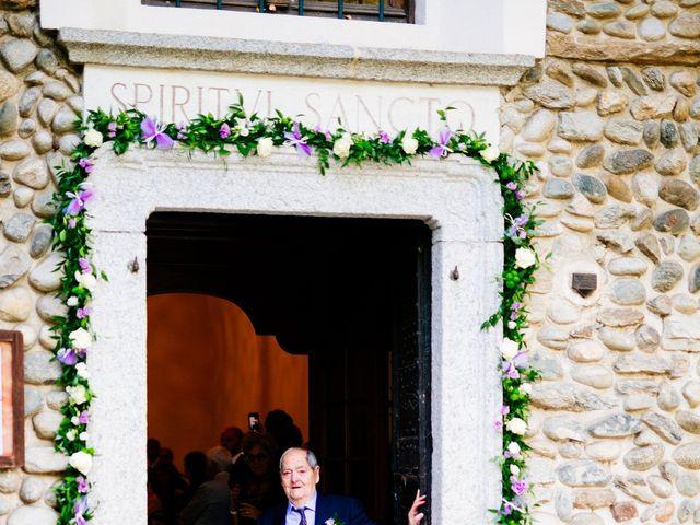 Il matrimonio di Massimiliano e Daria a Comignago, Novara 11