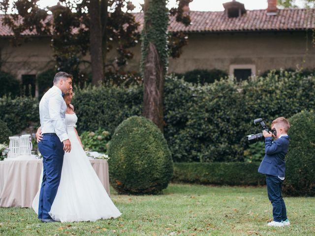 Il matrimonio di Massimiliano e Daria a Comignago, Novara 25