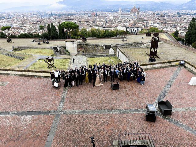 Il matrimonio di Silvia e Giulio a Firenze, Firenze 16