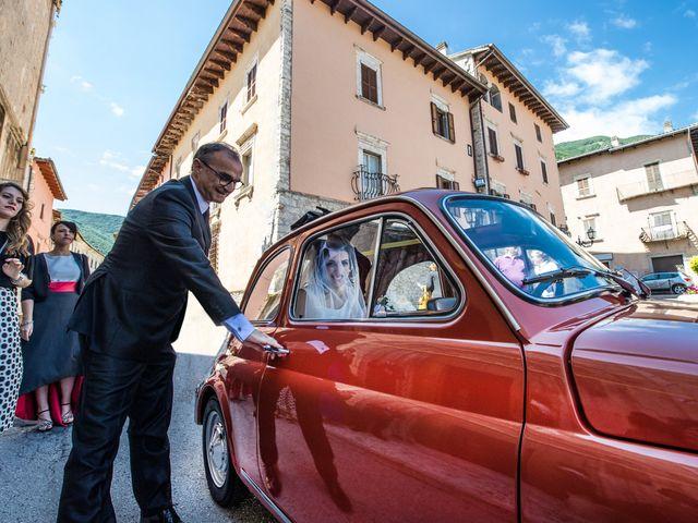 Il matrimonio di Michele e Sofia a Leonessa, Rieti 10