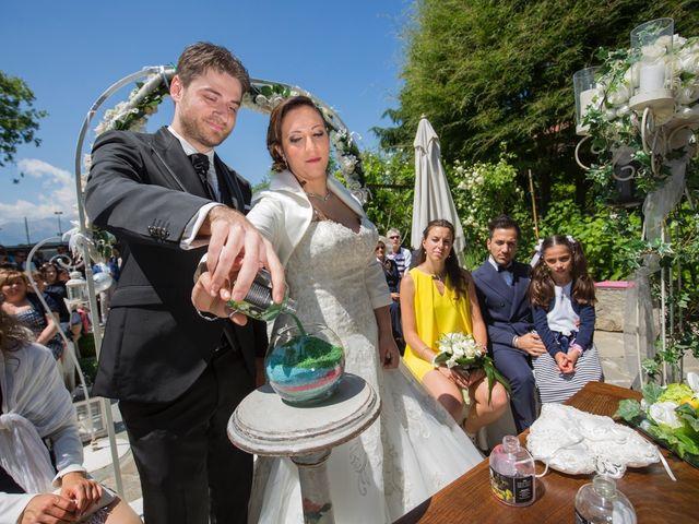Il matrimonio di Luca e Rossella a Piossasco, Torino 90