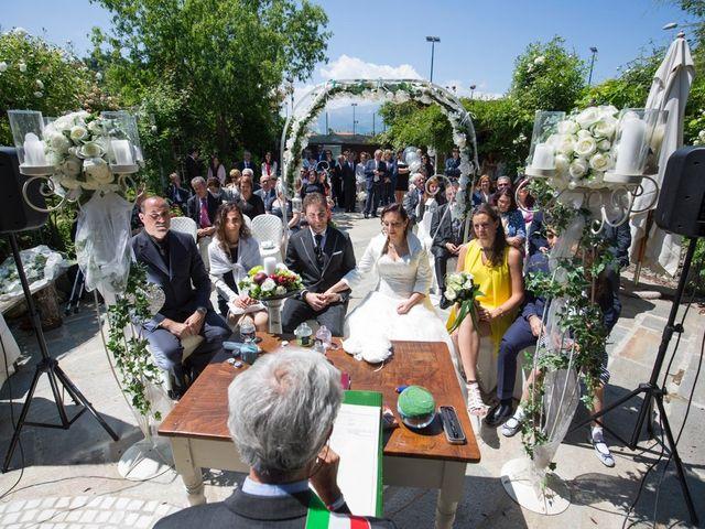 Il matrimonio di Luca e Rossella a Piossasco, Torino 91