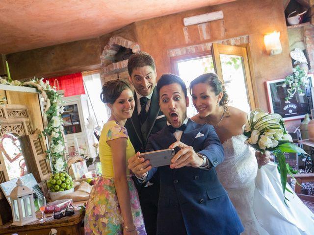 Il matrimonio di Luca e Rossella a Piossasco, Torino 92