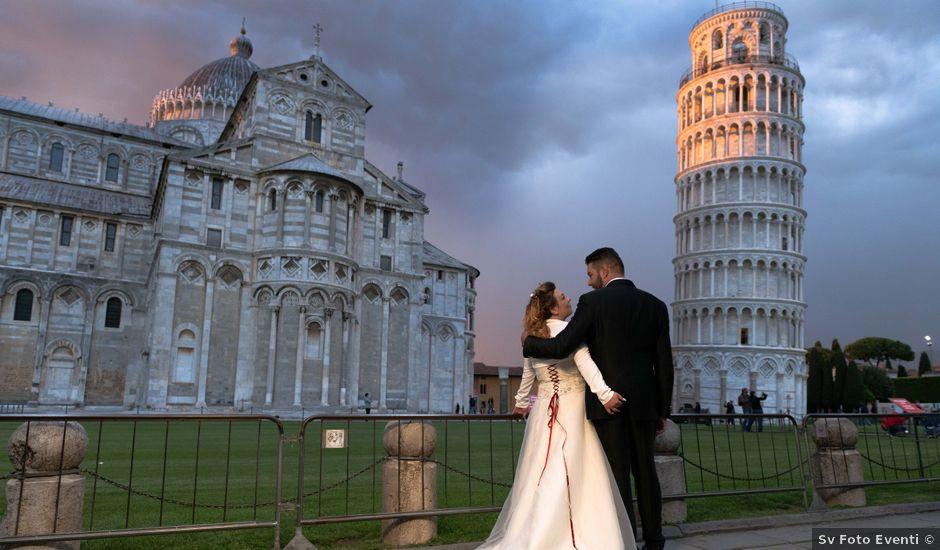 Il matrimonio di Dario e Sara a Vecchiano, Pisa