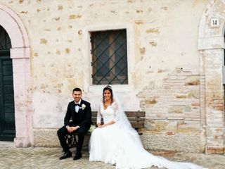 Le nozze di Estefany e Francesco