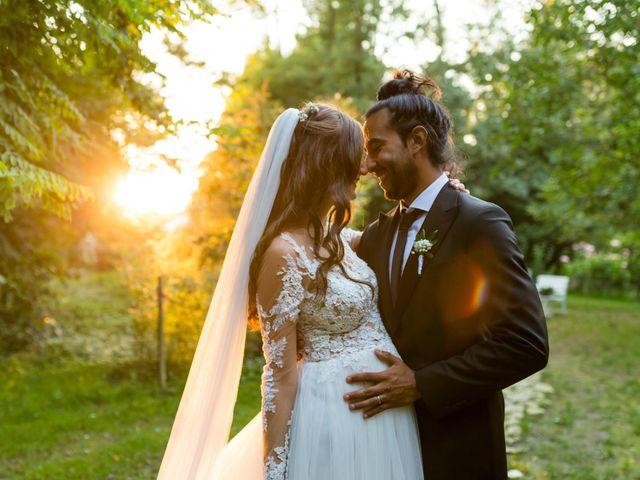 le nozze di Vanessa e Marco