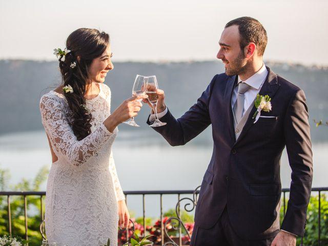 Il matrimonio di Alessio e Margherita a Castel Gandolfo, Roma 31