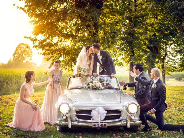 Le nozze di Gloria e Renato