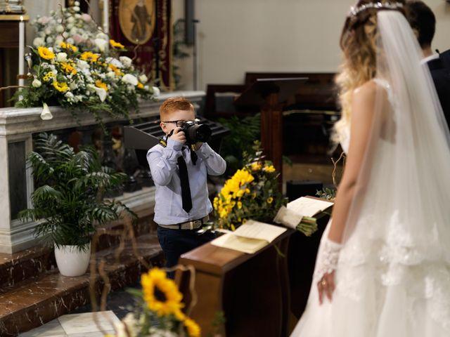 Il matrimonio di Gabriele e Angela a San Giovanni la Punta, Catania 12