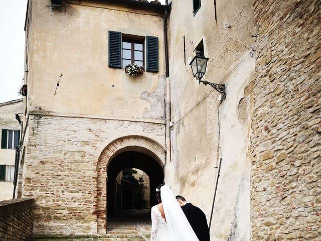 Il matrimonio di Francesco e Estefany a Serra de' Conti, Ancona 2