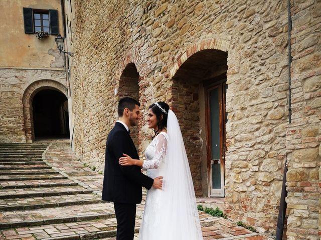 Il matrimonio di Francesco e Estefany a Serra de' Conti, Ancona 1
