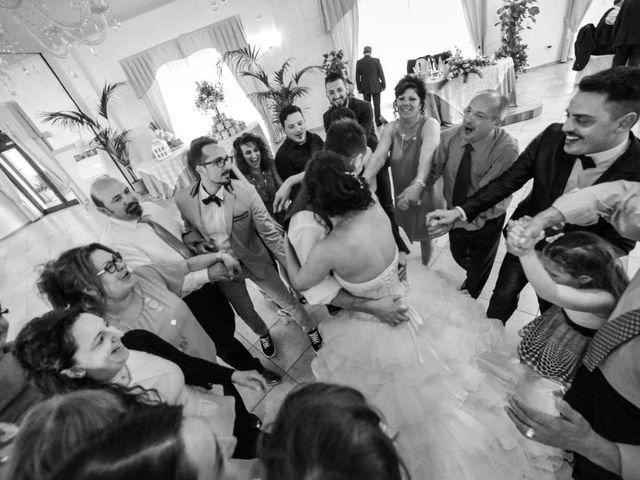 Il matrimonio di Giuseppe e Martina a Pescosansonesco, Pescara 52