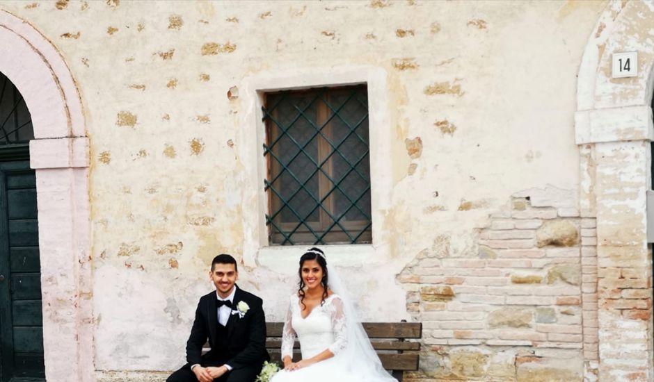 Il matrimonio di Francesco e Estefany a Serra de' Conti, Ancona
