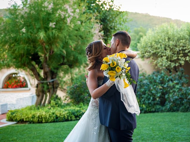 le nozze di Stefania e Max