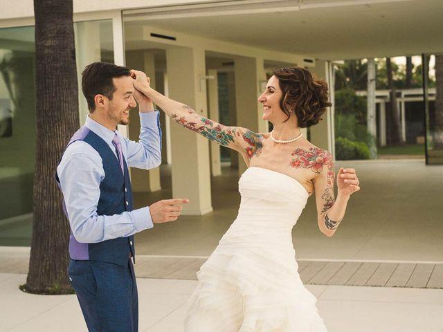 Le nozze di Claudia e Daniel