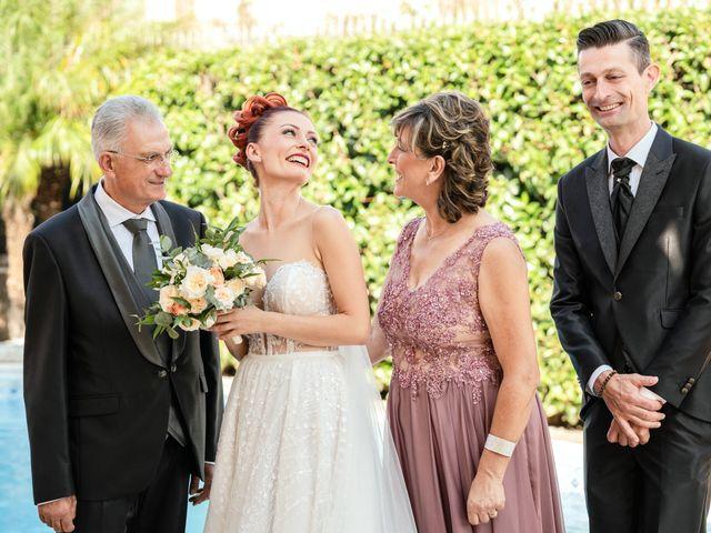Il matrimonio di Rosaria e Orazio a Taormina, Messina 14