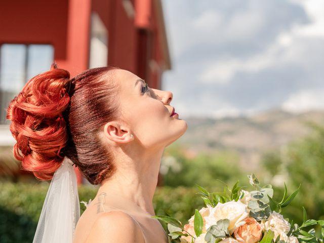 Il matrimonio di Rosaria e Orazio a Taormina, Messina 16