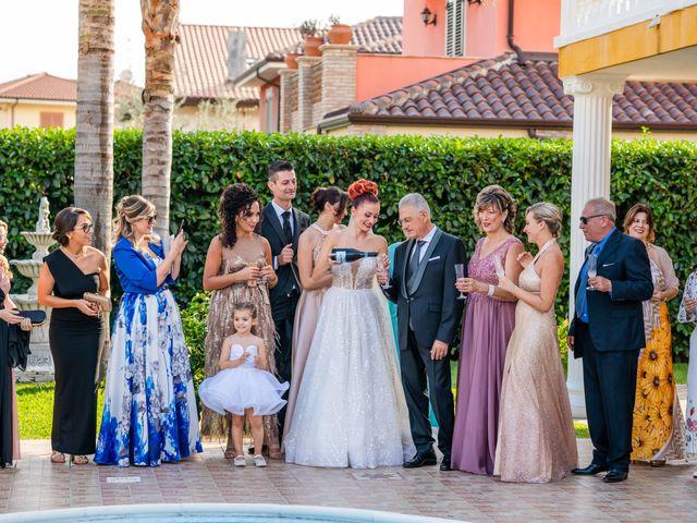 Il matrimonio di Rosaria e Orazio a Taormina, Messina 19
