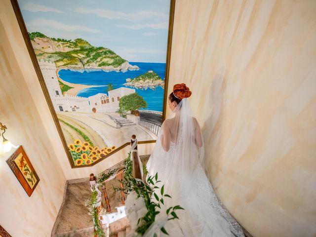 Il matrimonio di Rosaria e Orazio a Taormina, Messina 42