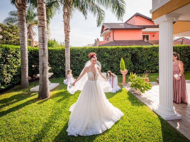 Il matrimonio di Rosaria e Orazio a Taormina, Messina 43