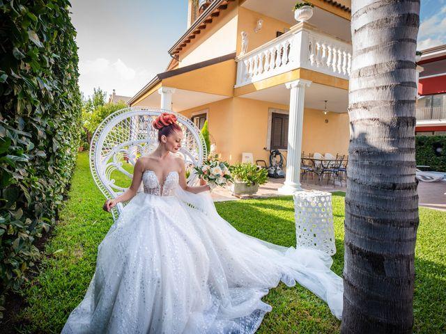 Il matrimonio di Rosaria e Orazio a Taormina, Messina 44