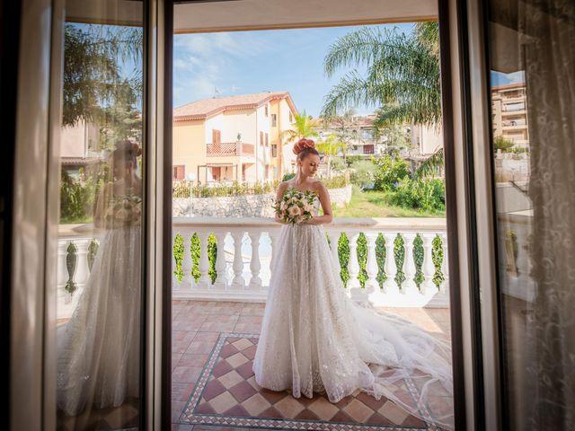 Il matrimonio di Rosaria e Orazio a Taormina, Messina 45