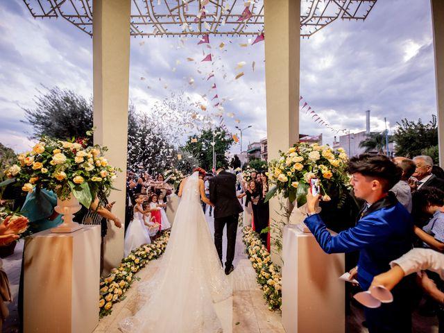 Il matrimonio di Rosaria e Orazio a Taormina, Messina 50
