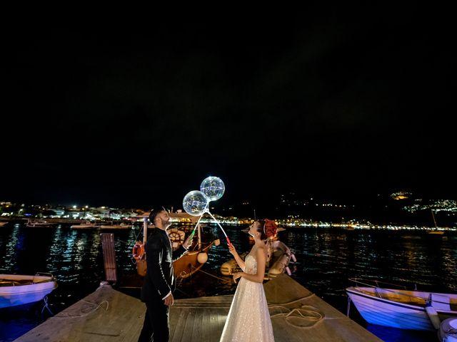 Il matrimonio di Rosaria e Orazio a Taormina, Messina 51