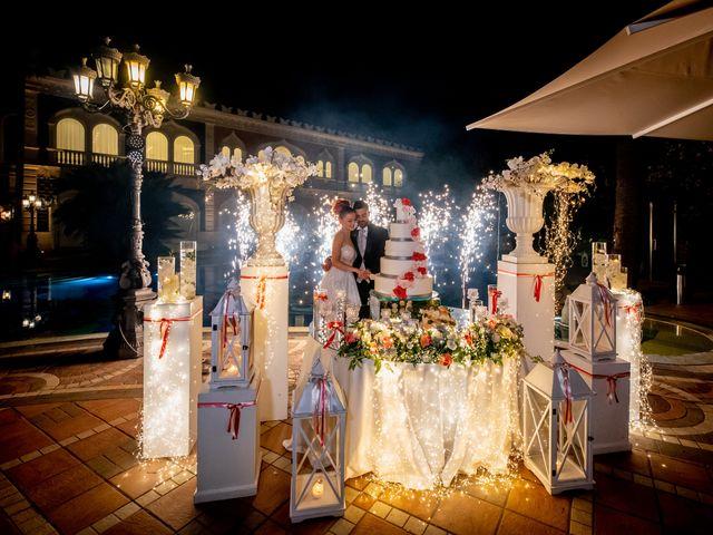 Il matrimonio di Rosaria e Orazio a Taormina, Messina 65