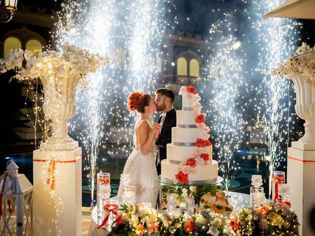 Il matrimonio di Rosaria e Orazio a Taormina, Messina 79