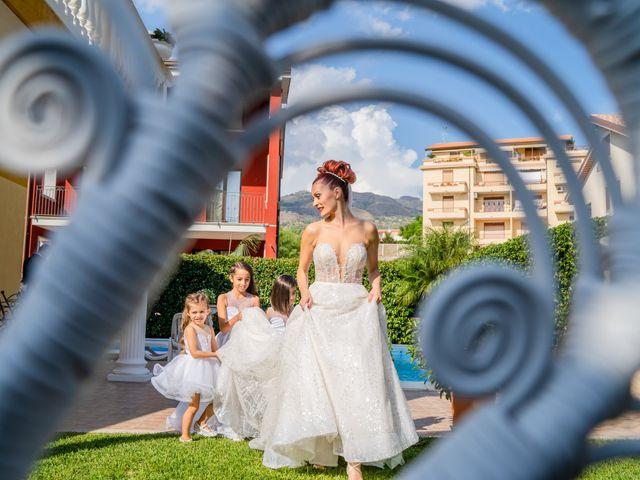 Il matrimonio di Rosaria e Orazio a Taormina, Messina 88