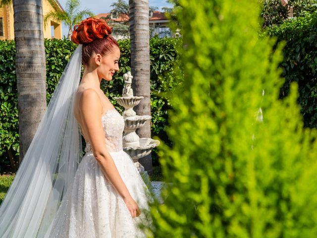 Il matrimonio di Rosaria e Orazio a Taormina, Messina 89