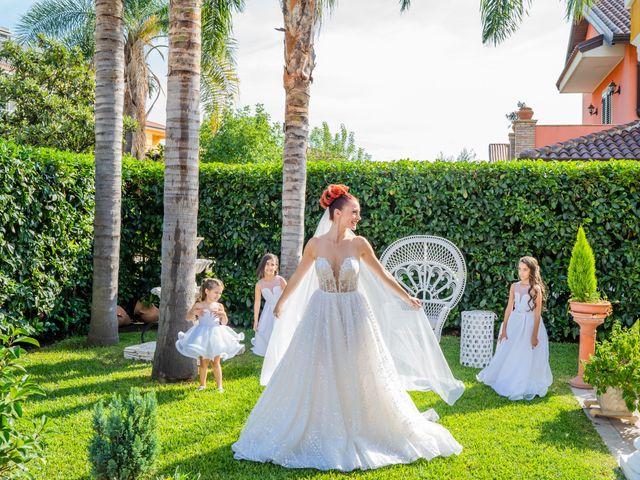 Il matrimonio di Rosaria e Orazio a Taormina, Messina 91
