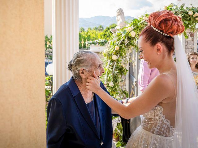 Il matrimonio di Rosaria e Orazio a Taormina, Messina 93