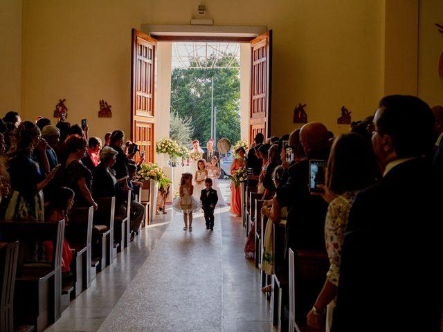 Il matrimonio di Rosaria e Orazio a Taormina, Messina 99