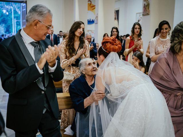 Il matrimonio di Rosaria e Orazio a Taormina, Messina 102