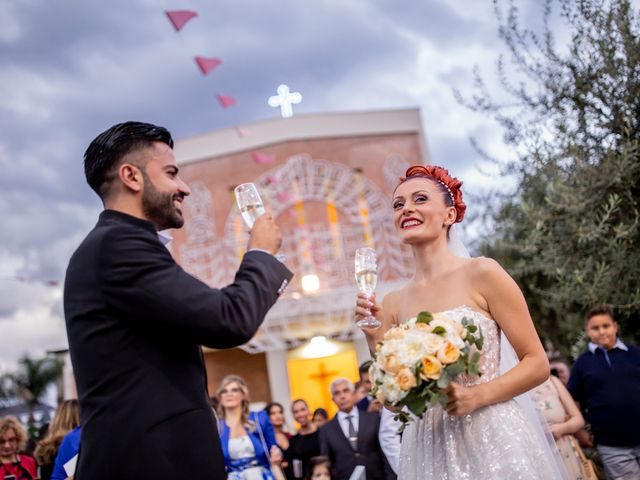 Il matrimonio di Rosaria e Orazio a Taormina, Messina 135