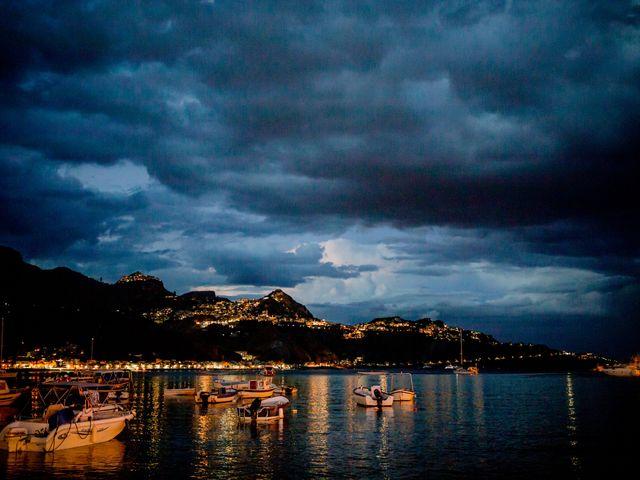 Il matrimonio di Rosaria e Orazio a Taormina, Messina 137