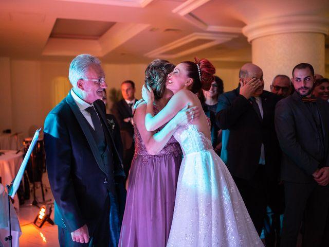 Il matrimonio di Rosaria e Orazio a Taormina, Messina 155