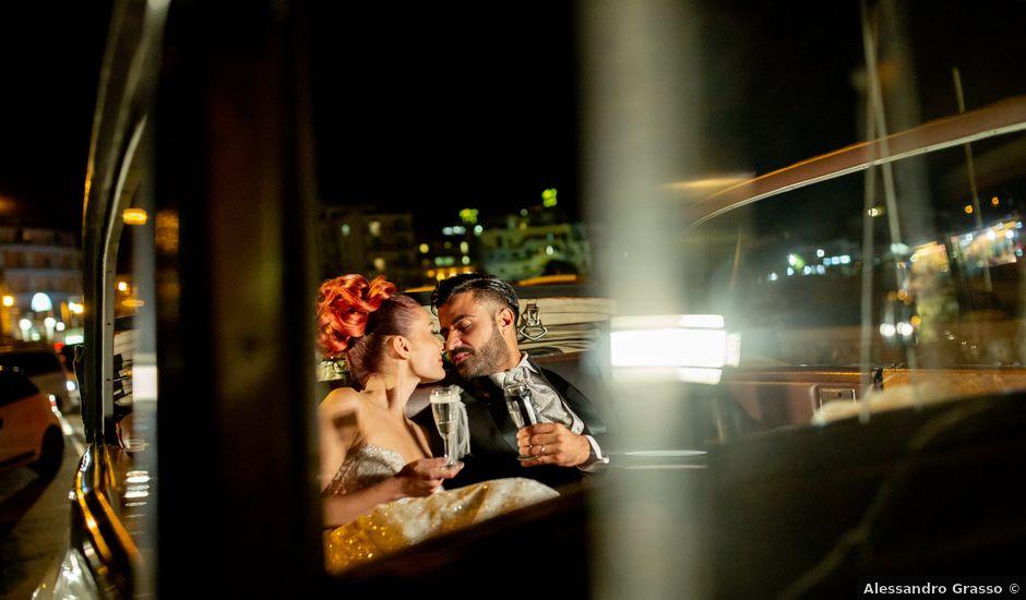 Il matrimonio di Rosaria e Orazio a Taormina, Messina