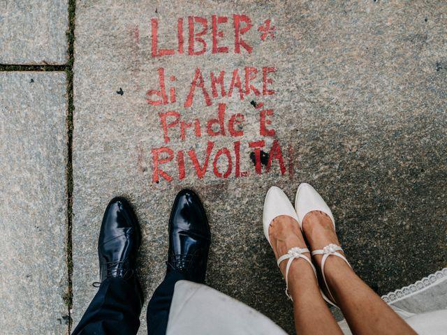 Il matrimonio di Andrea e Gloria a San Sebastiano da Po, Torino 1