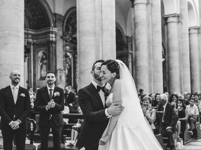 Il matrimonio di Andrea e Gloria a San Sebastiano da Po, Torino 4