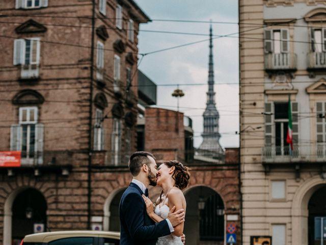 Il matrimonio di Andrea e Gloria a San Sebastiano da Po, Torino 7