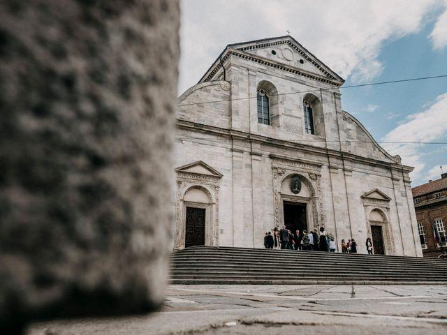 Il matrimonio di Andrea e Gloria a San Sebastiano da Po, Torino 18