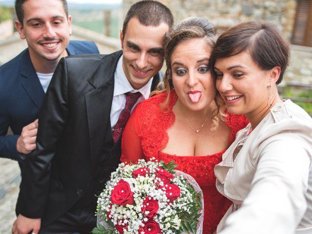 Il matrimonio di Stefano e Sara a Semproniano, Grosseto 22