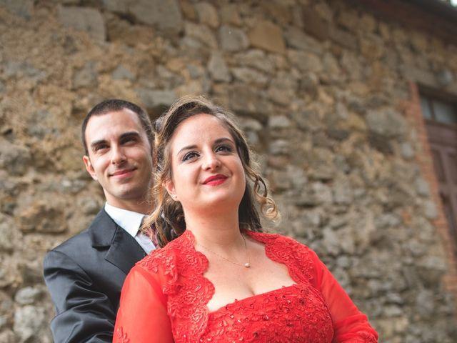 Il matrimonio di Stefano e Sara a Semproniano, Grosseto 25