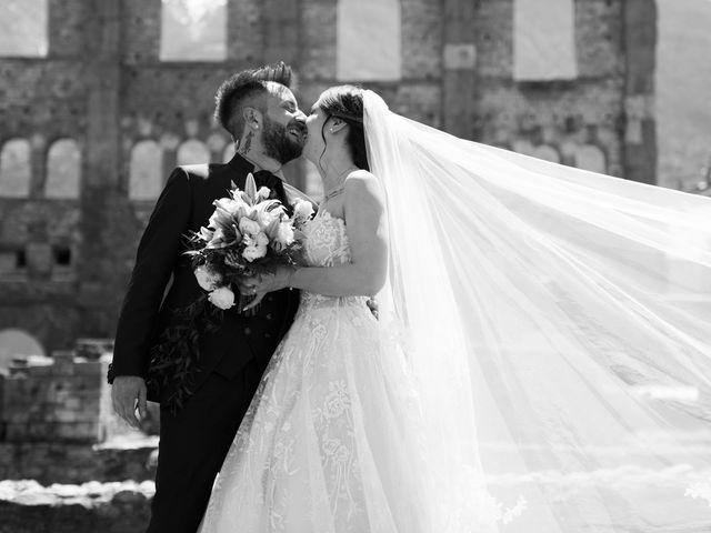 Il matrimonio di Daniele e Georgiana a Aosta, Aosta 1